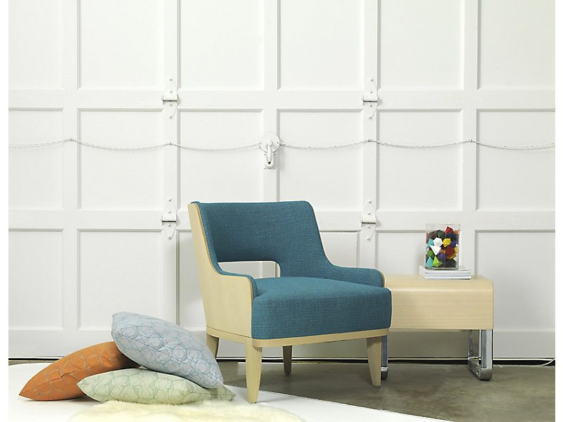 HBF Salon Lounge Chair with Open Back